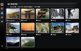 Screenshot of Photos for Google TV