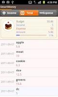 Screenshot of SmartMoney - Budget