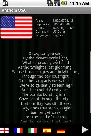 アメリカの国歌