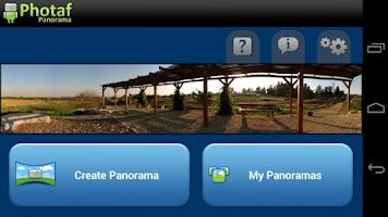 Screenshot of Photaf Panorama (Free)
