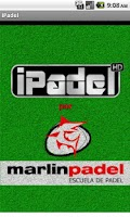 Screenshot of iPadel