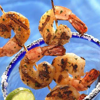 Grilled Margarita Shrimp for Two