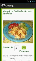 Screenshot of D3H Sindelfingen Rezepte