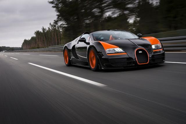 NoneBugatti Veyron Grand Sport Vitesse becomes the fastest convertible in the world