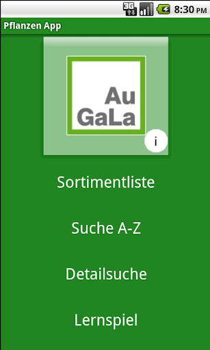 AuGaLa Pflanzen App