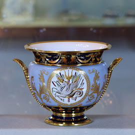 Cup from Pitti Palace by Jadwiga Dabrowski - Artistic Objects Cups, Plates & Utensils