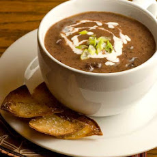 Gluten Free Blender Black Bean Soup