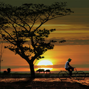village by Ymmot Davinci - Landscapes Sunsets & Sunrises