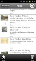 Screenshot of Click 'n Visit Ponts du Rhône