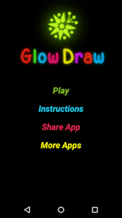 Glow Draw with multi colors - screenshot