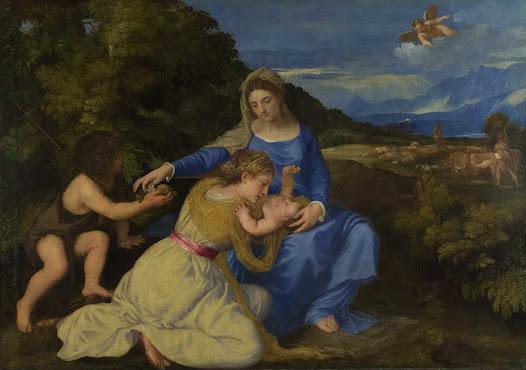 Tiziano, Madonna Aldobrandini