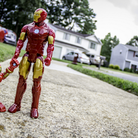 Superdad by Aulander Skinner - Artistic Objects Toys ( neighborhood, action figures, super heroes )