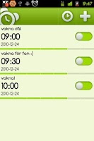 Screenshot of myClock Beta - Alarm Clock