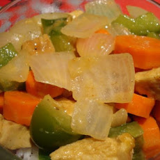 Thai Curry Chicken & Vegetables