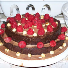 Torta Alla Gianduia (Chocolate Hazelnut Cake)