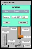 Screenshot of Construction Estimator  phone