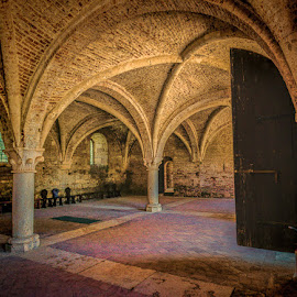 San Galgano Abbey by Michael Moss - Buildings & Architecture Other Interior