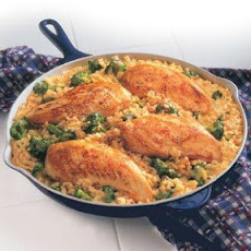 15-Minute Chicken & Rice Dinner