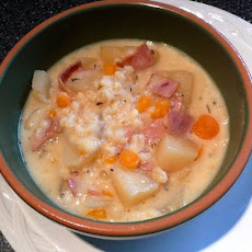 Weight Watchers Crock Pot Potato Chowder