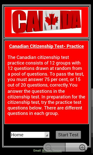 Citizenship Test - Canadian