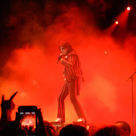by Sheena Popowich - People Musicians & Entertainers ( concert, rock star, rock and roll, alice cooper )