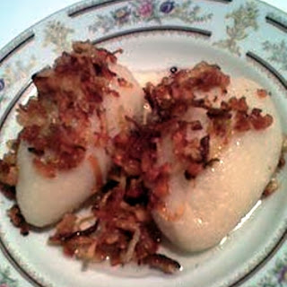 "Lithuanian ""Cepelinai"" Potato & Meat Dumplings"