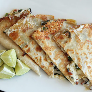 Ramp and Chorizo Quesadillas