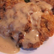 Mom's Baked Fried Chicken and Gravy