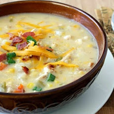 Corn and Cheddar Chowder