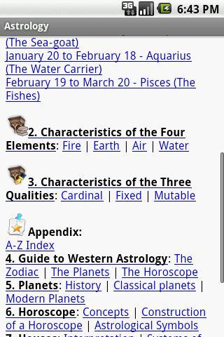 Astrology - Pocket Guide