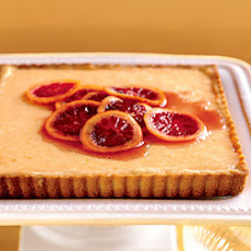 Fresh Orange Tart with Hazelnut Crust
