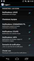 Screenshot of Ligue 1 Soccer