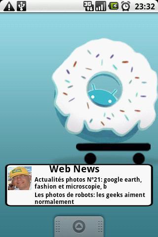 Widget Cocktail de Web News