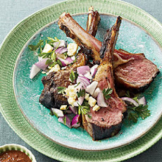Rack of Lamb with Pasilla Chiles