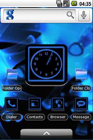 Neon Theme iPhone iPad