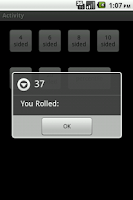 Screenshot of Dice Utility