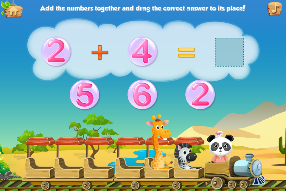 Lola's Math Train Learn Basics Screenshot 13