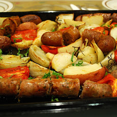 Bratwurst-Potato Skillet Dinner