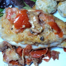 Chicken With Tomato Sauce and Bacon (Pollo Alla Campagna)