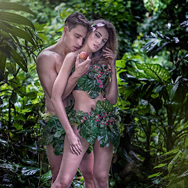 Adam & Eve by Crispin Lee - People Couples