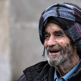 Old Man by Albert Pich - People Portraits of Men
