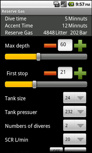 Reserve Gas