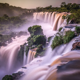 Iguazu by Wave Faber - Landscapes Waterscapes