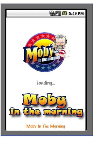 Moby In The Morning