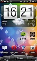 Screenshot of Snow Globe & Live WP Lite