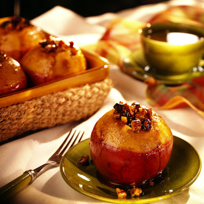 Tasty Tea Baked Apples