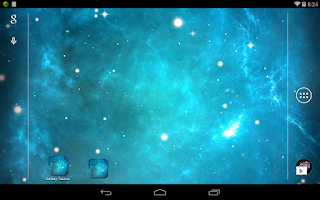 Screenshot of Galaxy Taurus Nebula LWP