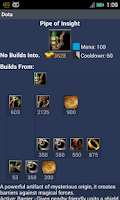 Screenshot of Build Guide for Dota Players