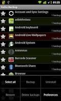 Screenshot of Delta Backup