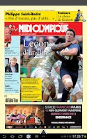 Screenshot of MIDI OLYMPIQUE